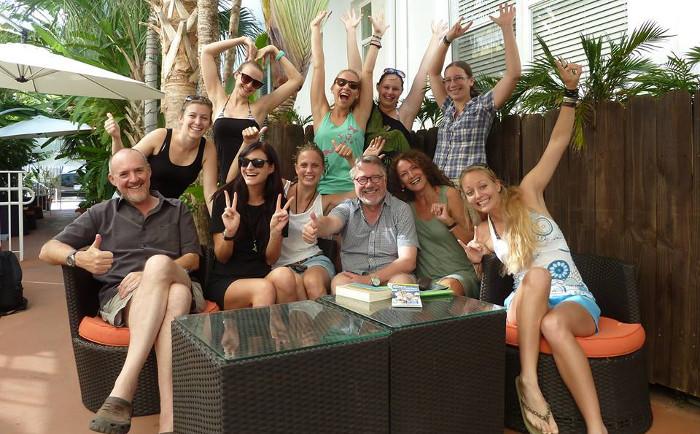 Abb. 2 Abschluss der Florida Exkursion 2013