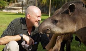 Andreas Kaufmann mit Tapir