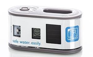 Gerät WADI: Das Gerät WADI zeigt an, ab wann das Wasser trinkbar ist.