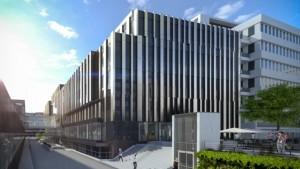 Böhringer Ingelheim investiert in ein neues Institutsgebäude für die IMP, das alte Gebäude der IMP wird frei.   ©Visualisierung: ATP/Telegram 71 (Böhringer Ingelheim/IMP Pressefoto)
