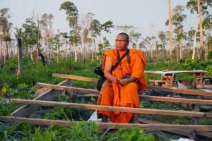 Multimedia-Mönch Luon Sovath kämpft in Kambodscha gegen den Landraub.