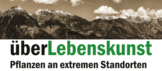 Ausstellung im Botanischen Garten Innsbruck
