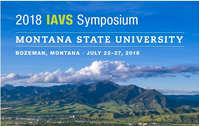 2018 IAVS 61st Annual Symposium, July 22-27 July